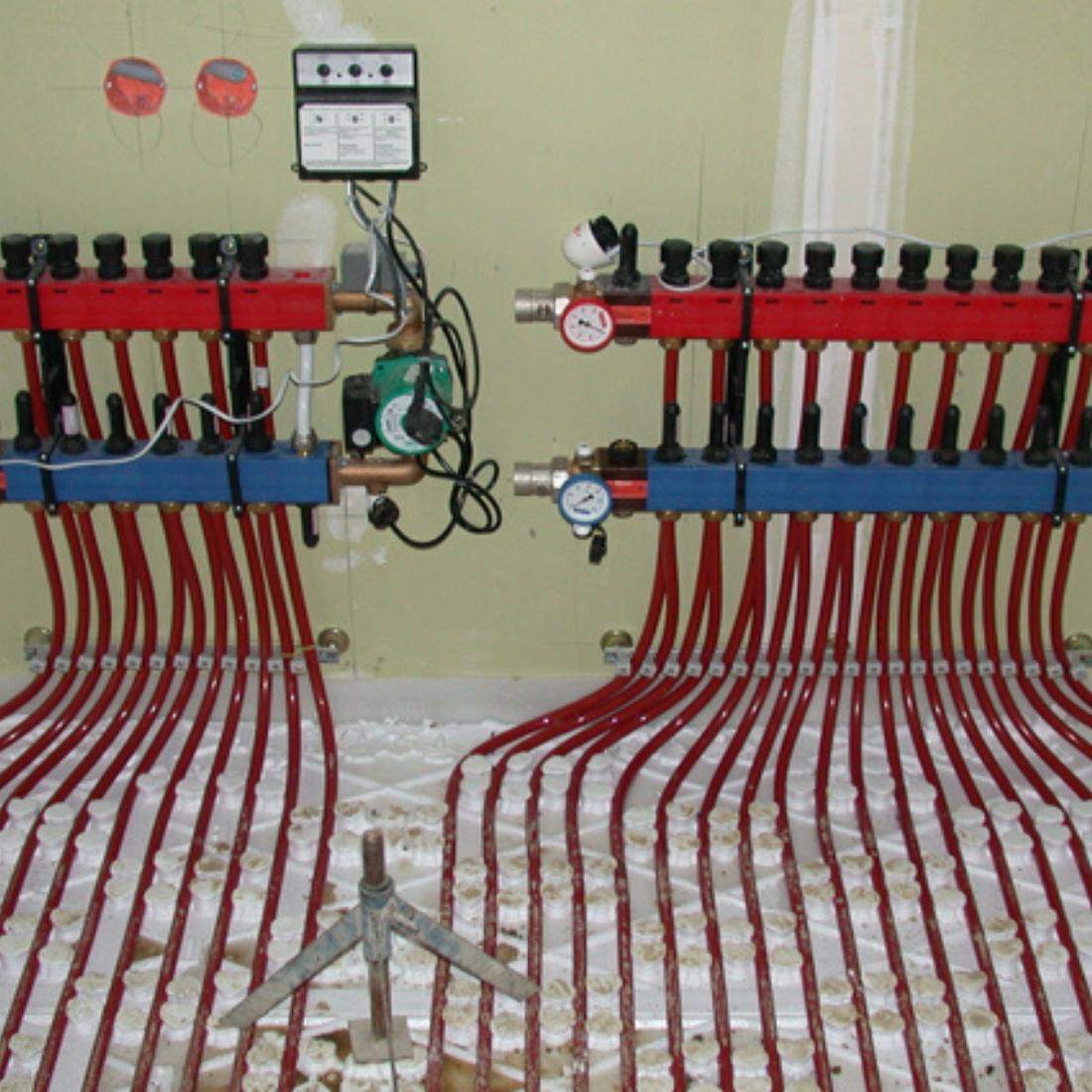 Chape fluide plancher chauffant